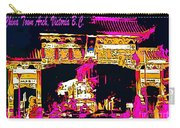 China Town Arch Victoria British Columbia Canada Carry-all Pouch