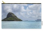 Chinamans Hat Panorama - Oahu Hawaii Carry-all Pouch
