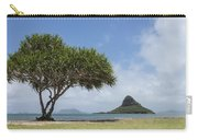 Chinamans Hat With Tree - Oahu Hawaii Carry-all Pouch