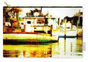 Chincoteague Boat Reflections Carry-all Pouch