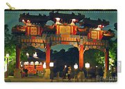 Chinese Entrance Arch Carry-all Pouch