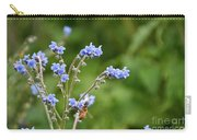 Chinese Forget Me Nots Carry-all Pouch