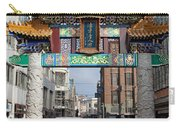 Chinese Gate To The Chinatown  Carry-all Pouch