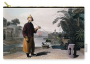 Chinese Gentleman, From A Picturesque Carry-all Pouch