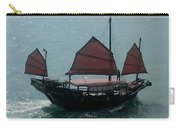 Chinese Junk In Hong Kong Harbor Carry-all Pouch