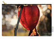 Chinese Lantern Plant - Glow Carry-all Pouch