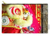 Chinese Lion Head Carry-all Pouch