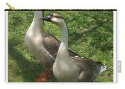 Chinese Swan Goose Pair 2 Carry-all Pouch