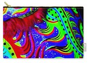 Chinese Tapestry Abstract Carry-all Pouch