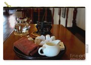 Chinese Tea Pot Cups Towel Tray And Plates Carry-all Pouch
