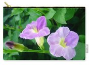 Chinese Violet  1 Carry-all Pouch
