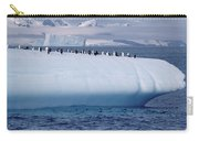 Chinstrap Penguins On Iceberg Carry-all Pouch