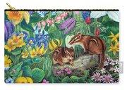 Chipmunk Garden Carry-all Pouch