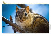 Chipmunk On A Branch Carry-all Pouch