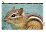 Chipmunk Portrait Carry-all Pouch