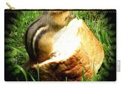 Chipmunk Saying Grace Carry-all Pouch