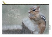 Chippy Christmas Card Carry-all Pouch