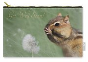 Chippy Get Well Soon Carry-all Pouch