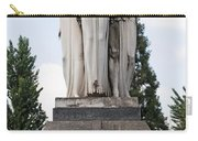 Chisletti Bonelli Memorial Front View Monumental Cemetery Milan Carry-all Pouch