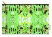 Chive Abstract Green Carry-all Pouch