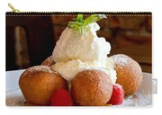 Chocolate Beignet Dessert Carry-all Pouch