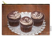 Chocolate Caramel Cupcakes Carry-all Pouch