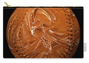 Chocolate Dipped Baseball Square Carry-all Pouch