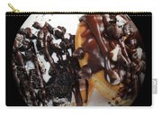 Chocolate Donuts Baseball Square Carry-all Pouch by Andee Design
