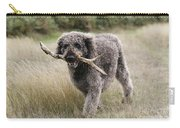 Chocolate Labradoodle Carry-all Pouch
