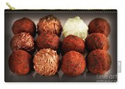 Chocolate Truffles Carry-all Pouch by Elena Elisseeva