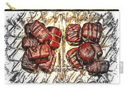 Chocolates - Illustration - Dish - Candy Carry-all Pouch