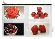 Choice Of Fruit 4 X 4 Collage 1 - Fruit Market Carry-all Pouch