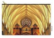 Choir Loft At Saint Josephs Cathedral Buffalo New York Carry-all Pouch