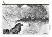 Cholera Cartoon, 1883 Carry-all Pouch by Granger