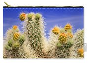 Cholla Cactus In Joshua Tree By Diana Sainz Carry-all Pouch