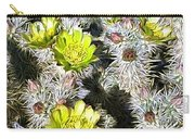 Cholla Flowers Carry-all Pouch