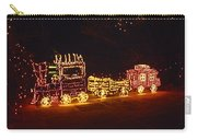 Choo Choo Train In Lights Carry-all Pouch