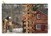 Choose Your Direction Carry-all Pouch by Fiona Kennard