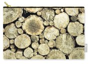 Chopped Wood Carry-all Pouch