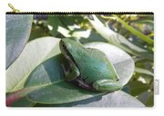Chorus Frog On A Rhodo Carry-all Pouch