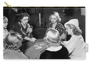 Chorus Girls Playing Hearts Carry-all Pouch