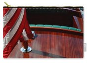Chris Craft With Flag And Steering Wheel Carry-all Pouch
