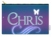 Chris Name Art Carry-all Pouch