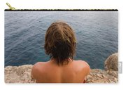 Chris Sharma Relaxing And Meditating Carry-all Pouch