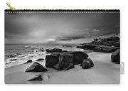 Chris's Rock 2013 Black And White Carry-all Pouch