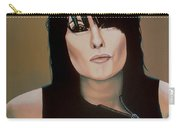 Chrissie Hynde Painting Carry-all Pouch