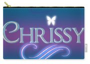 Chrissy Name Art Carry-all Pouch