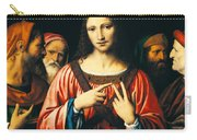 Christ Among The Doctors Carry-all Pouch