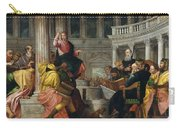 Christ Among The Doctors In The Temple Carry-all Pouch