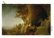Christ And St Mary Magdalen At The Tomb Carry-all Pouch